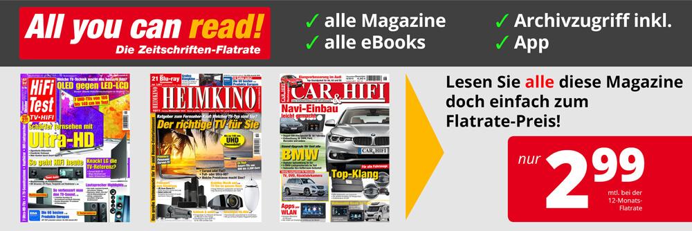 28 Magazine zum sagenhaften Flatrate-Preis!