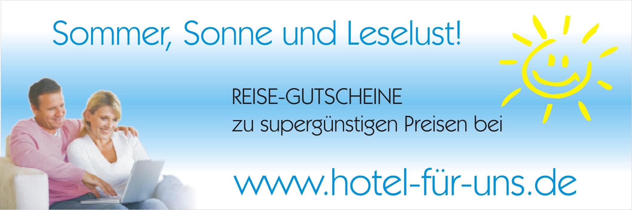 Supergünstige Hotelgutscheine - bis zu 70 % sparen!